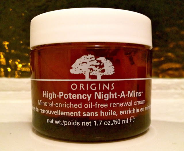 A picture of Origins High-Potency Night-A-Mins Moisturiser Oil free