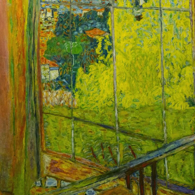 Pierre Bonnard - L'atelier au mimosa;1939-1946.