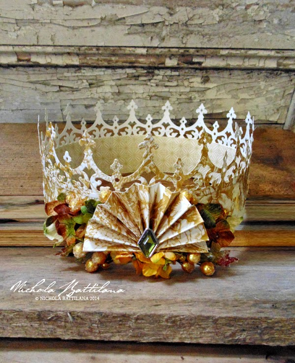 Paper Crown for Petaloo by Nichola Battilana