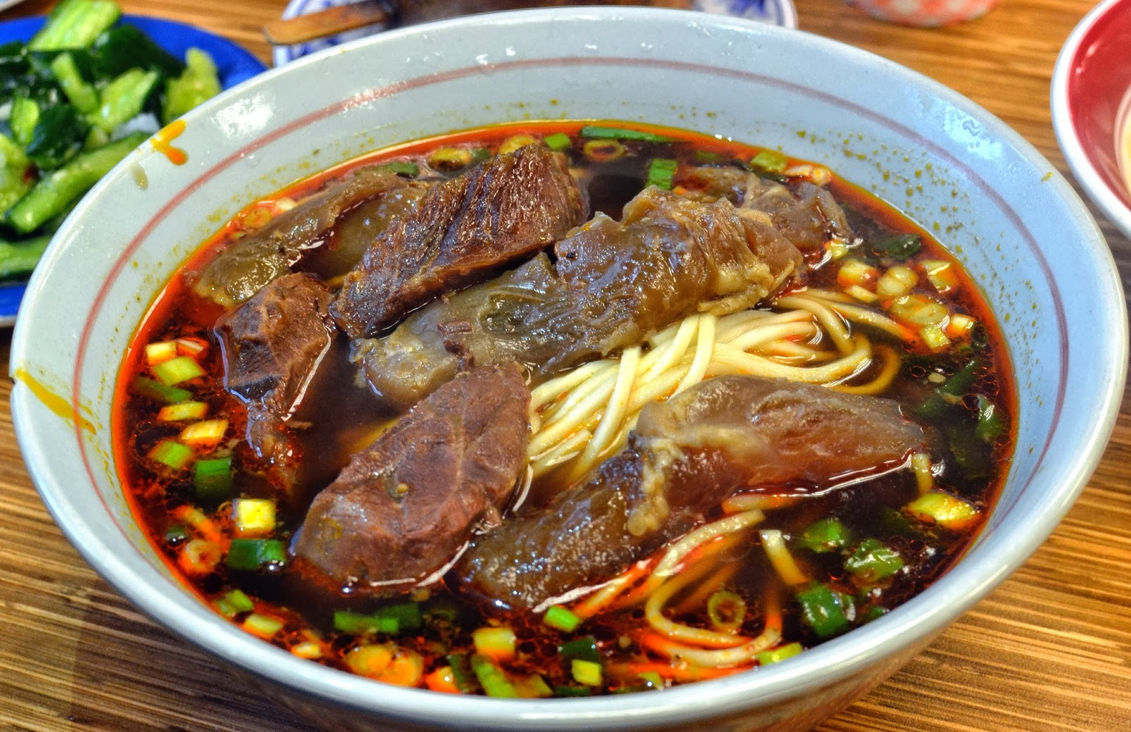 Yong Kang Beef Noodle Taipei Taiwan Hungry Hong Kong