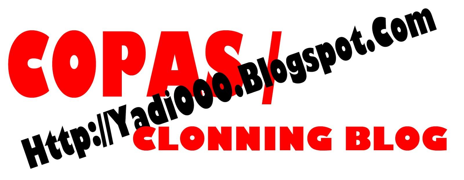 Ga suka dengan blog di Clonning, why..?? mungkin artikel saya kali ini ...