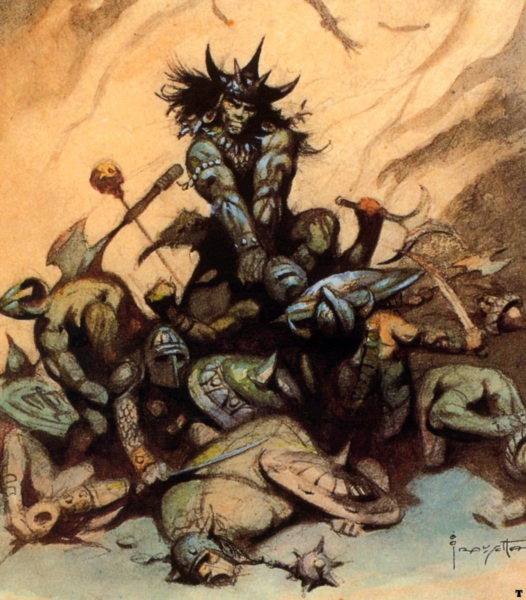 METAL ON METAL: Frank Frazetta, epic fantasy