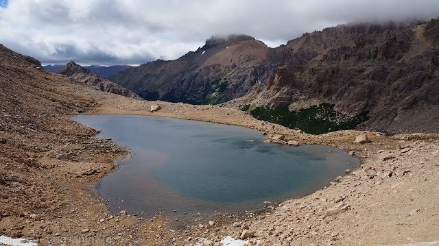 laguna Schmoll, vista, laguna