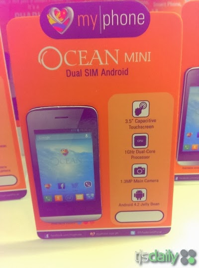 MyPhone Ocean Mini Specs