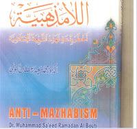 Donwload kitab al-La Mazhabiyah Akhthar Bid`ah Tuhahaddid asy-Syariah al-Islamiyah