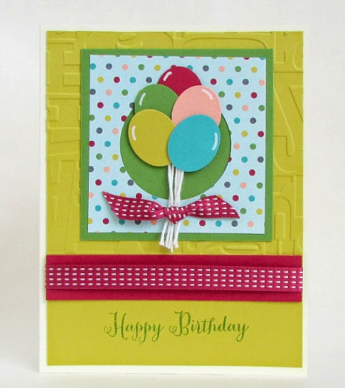 Quick and easy birthday card. #cardmaking #papercrafts #StampinUp