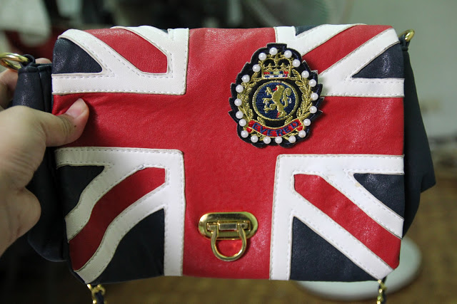 union jack vintage thrift blogger