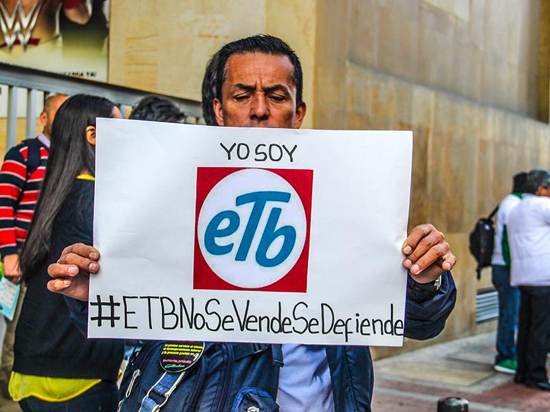 Sintratelefonos logra otra victoria: Juzgado tumba la venta de la ETB