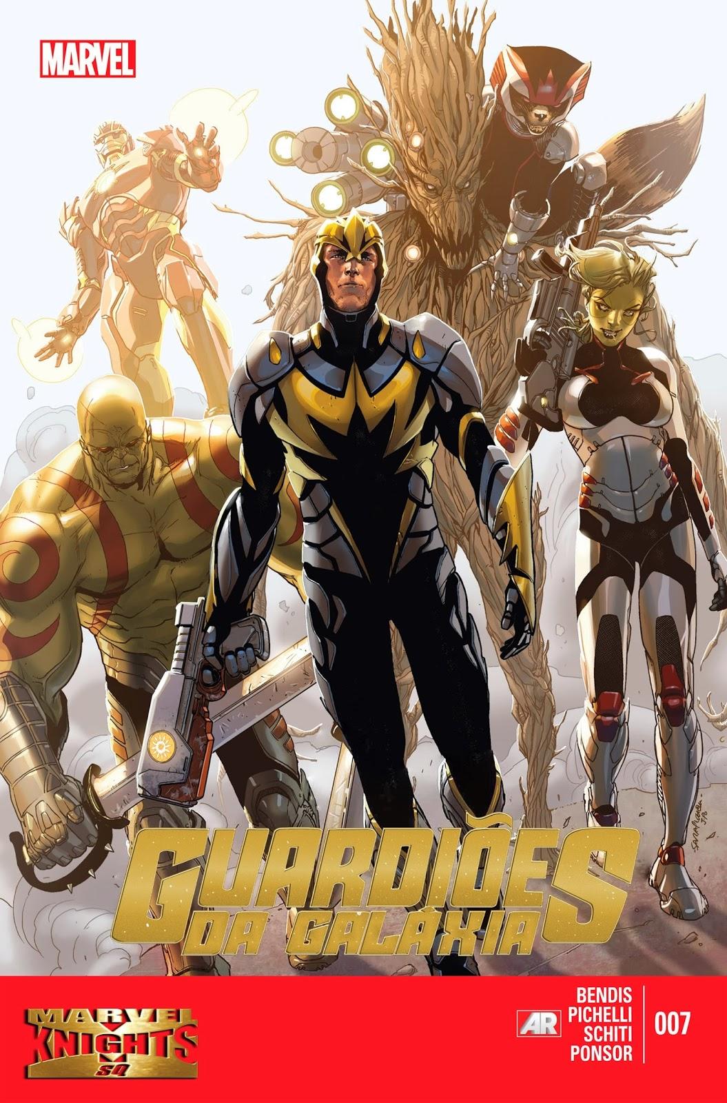 Guardiões da Galáxia #7