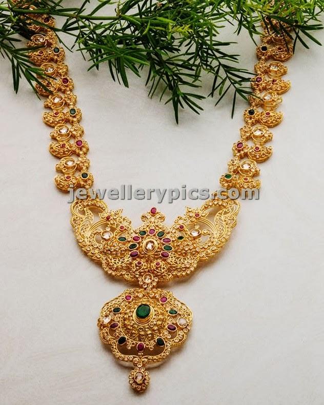 swarnamahal long chain haram design