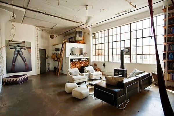 Arredamento Stile Loft New York: Un loft panoramico a new york case e ...