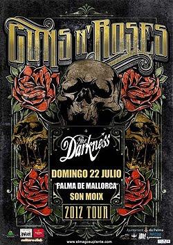 Guns N' Roses en Mallorca en julio 2012