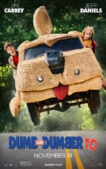 dumb and dumber to movie poster (2014)