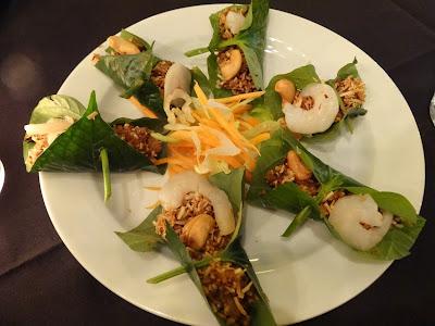 koko thai, thai, adelaide, food, dinner, north adelaide, restaurant, betel leaf, miang kum, prawn
