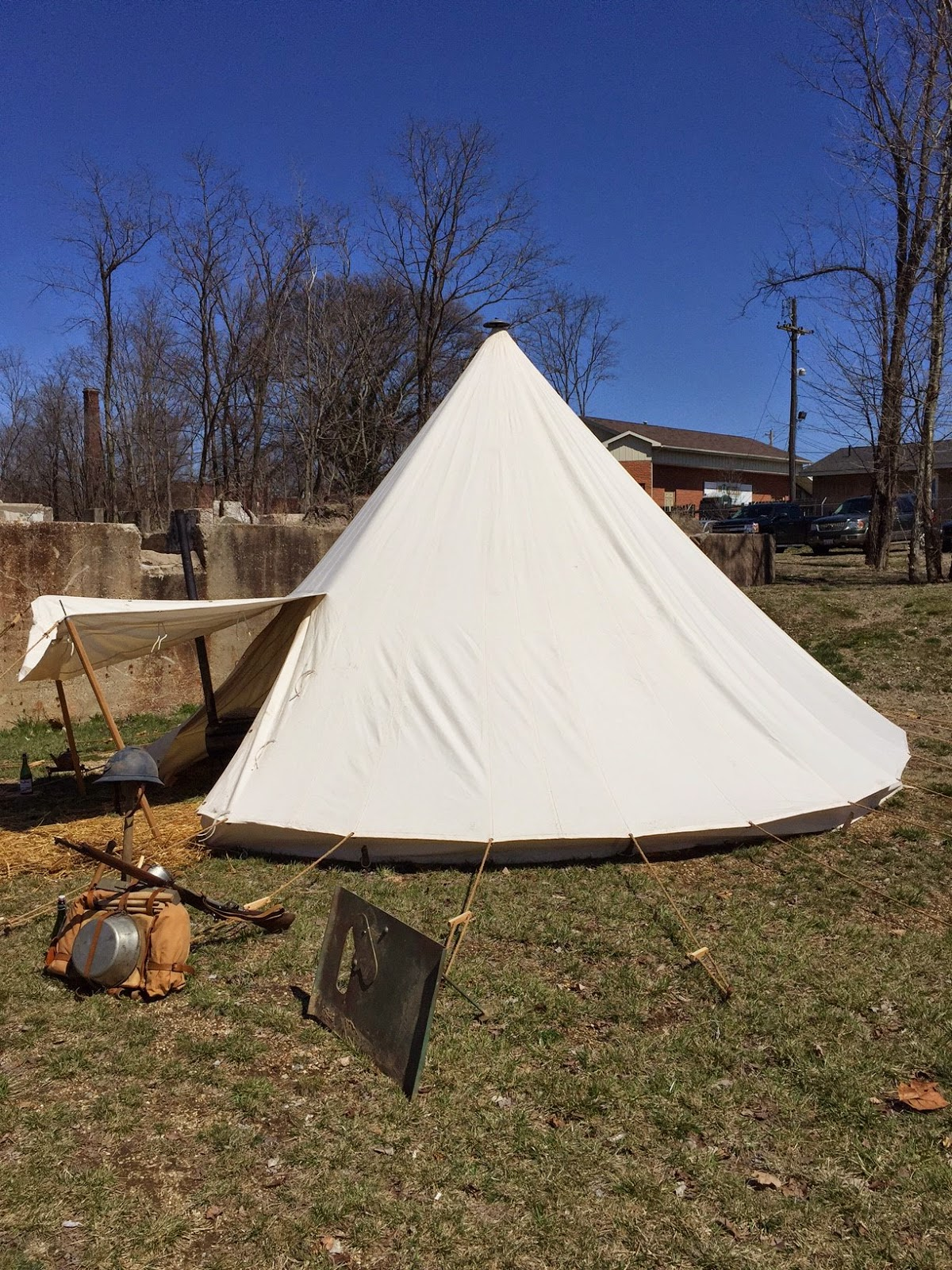 World War One French Conical Tent from Armbruster & World War One French Conical Tent from Armbruster | Armbruster ...