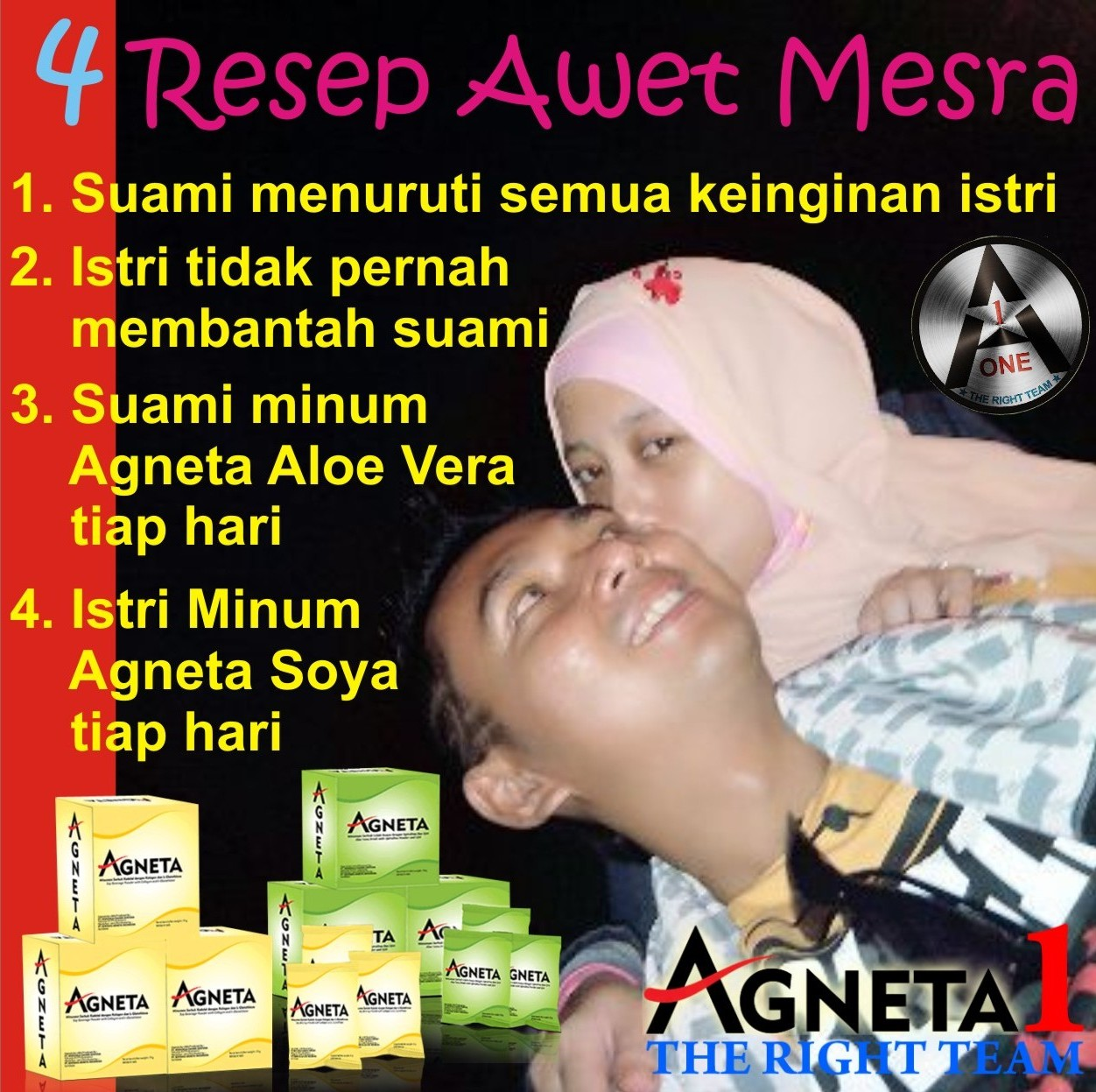 Resep Awet Mesra Agneta