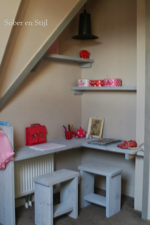 Slaapkamer Wand Steigerhout: Beau blanc. Het moonhuis zoya s kamer. .