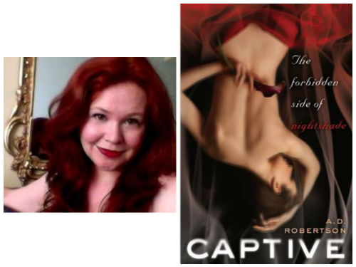 A.D. Robertson's (aka Andrea Cremer) Captive + GIVEAWAY