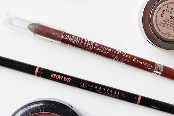 MOST LOVED | January '15 - Rimmel Scandaleyes in Bronze + Anastasia Brow Wiz in Dark Brown - CassandraMyee