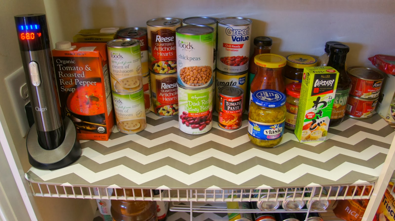Food Fashion Home Diy Pantry Shelf Liners