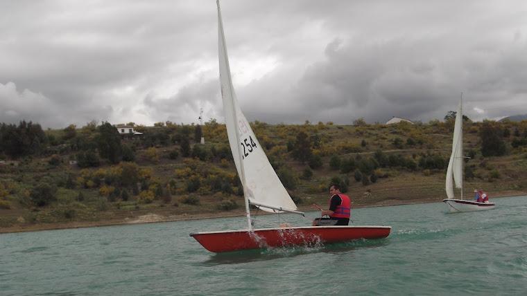 Laser & Gambetta sailing....