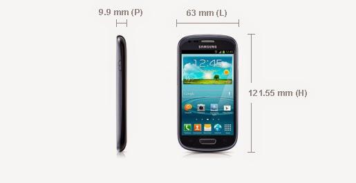 Smartphone Samsung Galaxy S3 Mini Noir Saphir I8190