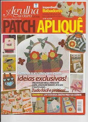 Magazine published patchwork blanket, Patchwork, bolsas e afins, Maria Adna, Manta infantil, almofada infantil, Maria Adna publica dois artigos
