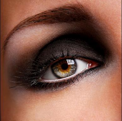 Como hacer un ojo ahumado