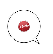 Admin comments badge and style on blogger