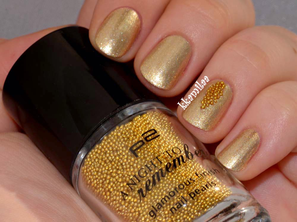p2 A Night to Remember nr 010 - Gold (Nail Pearls)