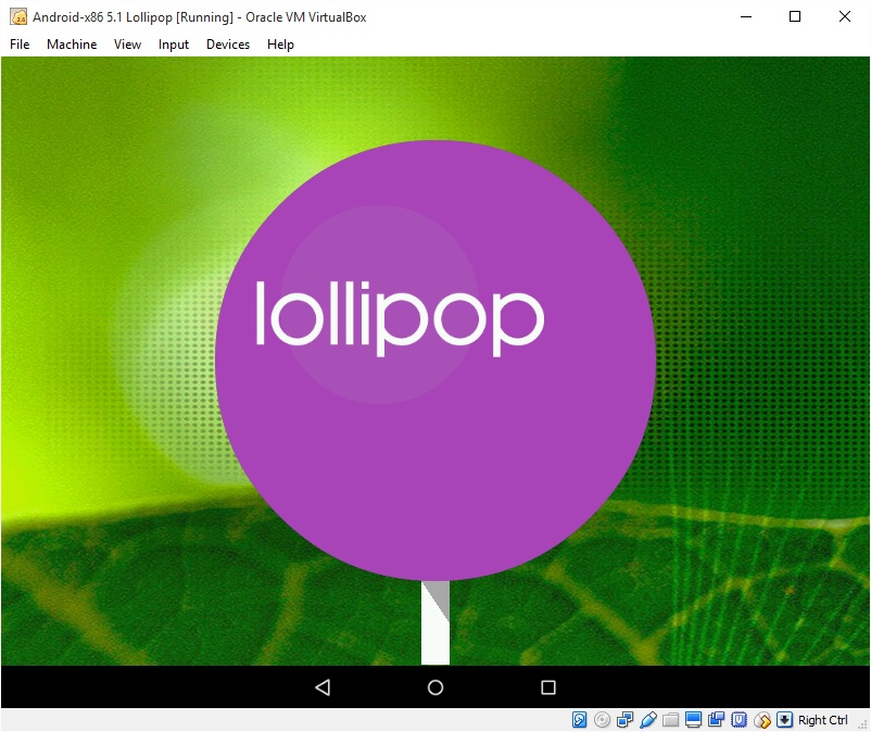 How to run android x86 5 1 lollipop with virtualbox keyables