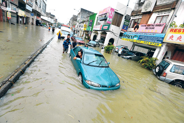 Banjir di Salak Selatan