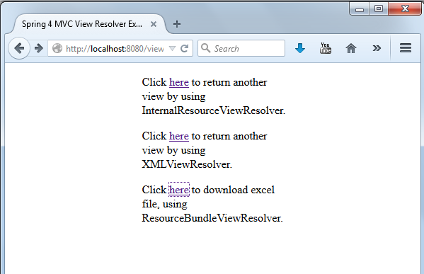 How to configure multiple view resolvers in Spring MVC