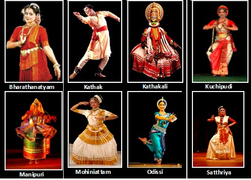 8 CLASSICAL DANCE FORMS OF INDIA