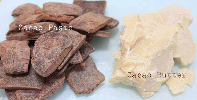how to make raw chocolate truffles with raw cacao paste and cacao butter