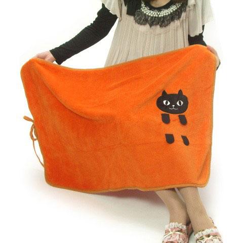 捲捲貓咪毯子 保暖效果