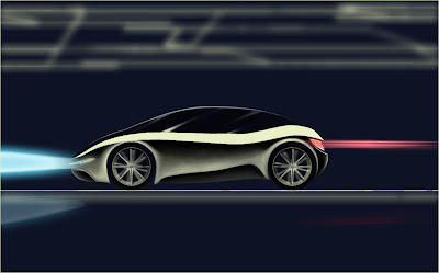 drawing render Car concept design sketch