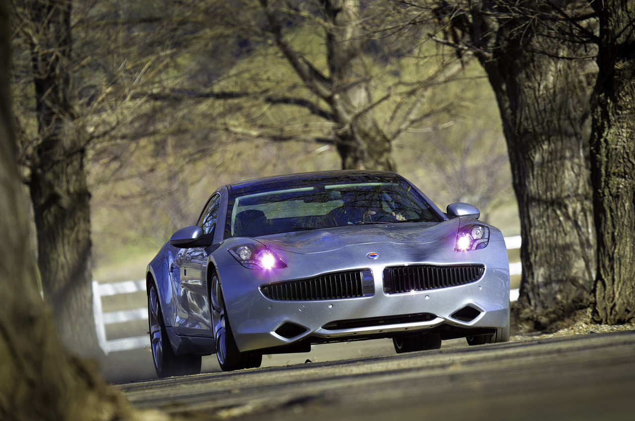 Fisker Karma Electric Car Quick Drive Review Video
