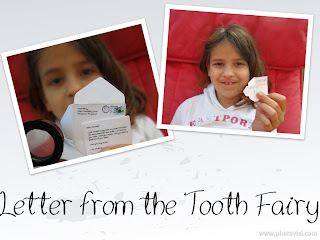Little Letters - Letter from the Tooth Fairy