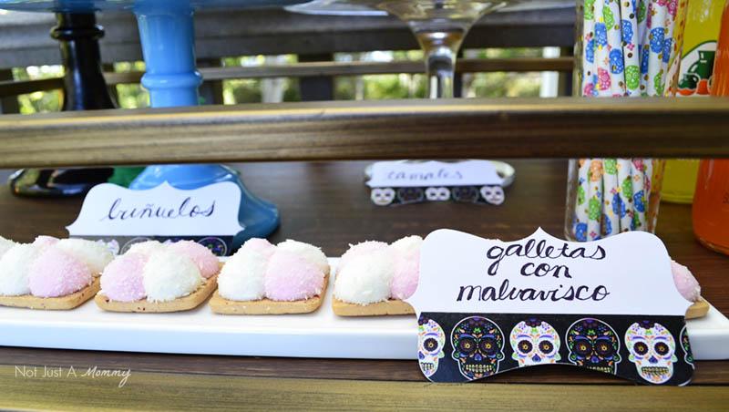 Día De Los Muertos Crafternoon Party cookies