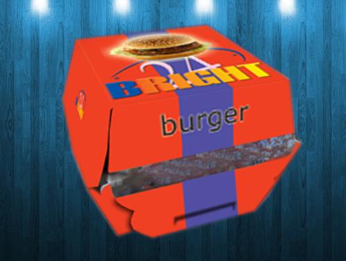 Cetak Kemasan Burger