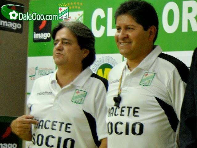 Oriente Petrolero - Keko Álvarez - Eduardo Villegas - DaleOoo.com sitio del Club Oriente Petrolero