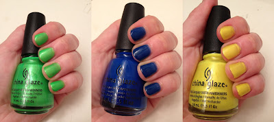 China Glaze, China Glaze Summer Neons 2012 Collection, China Glaze nail polish