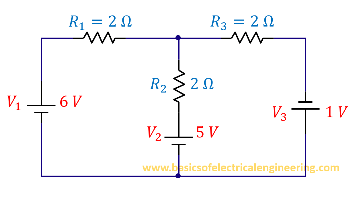 Branch Current Analysis Basics Of Electrical Engineering Voltagecurrent And Resistance In Series Circuit Example 12b252812529