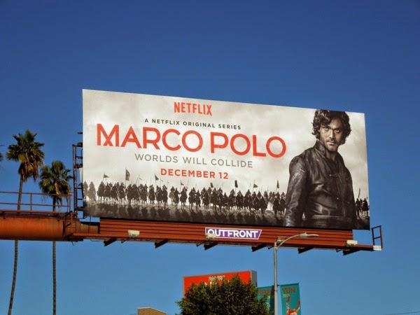 Marco Polo Netflix series billboard