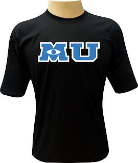 Camiseta Universidade Monstros Logo
