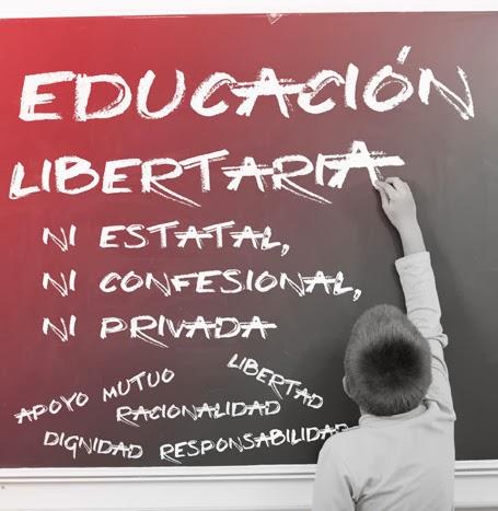 Por una educación libertaria