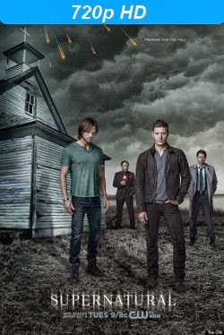 cover de la serie supernatural season 9 720p
