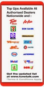 Topup ada djual di semua kedai topup,stesen minyak,maybank2u,cimb cliks dan lain-lain.
