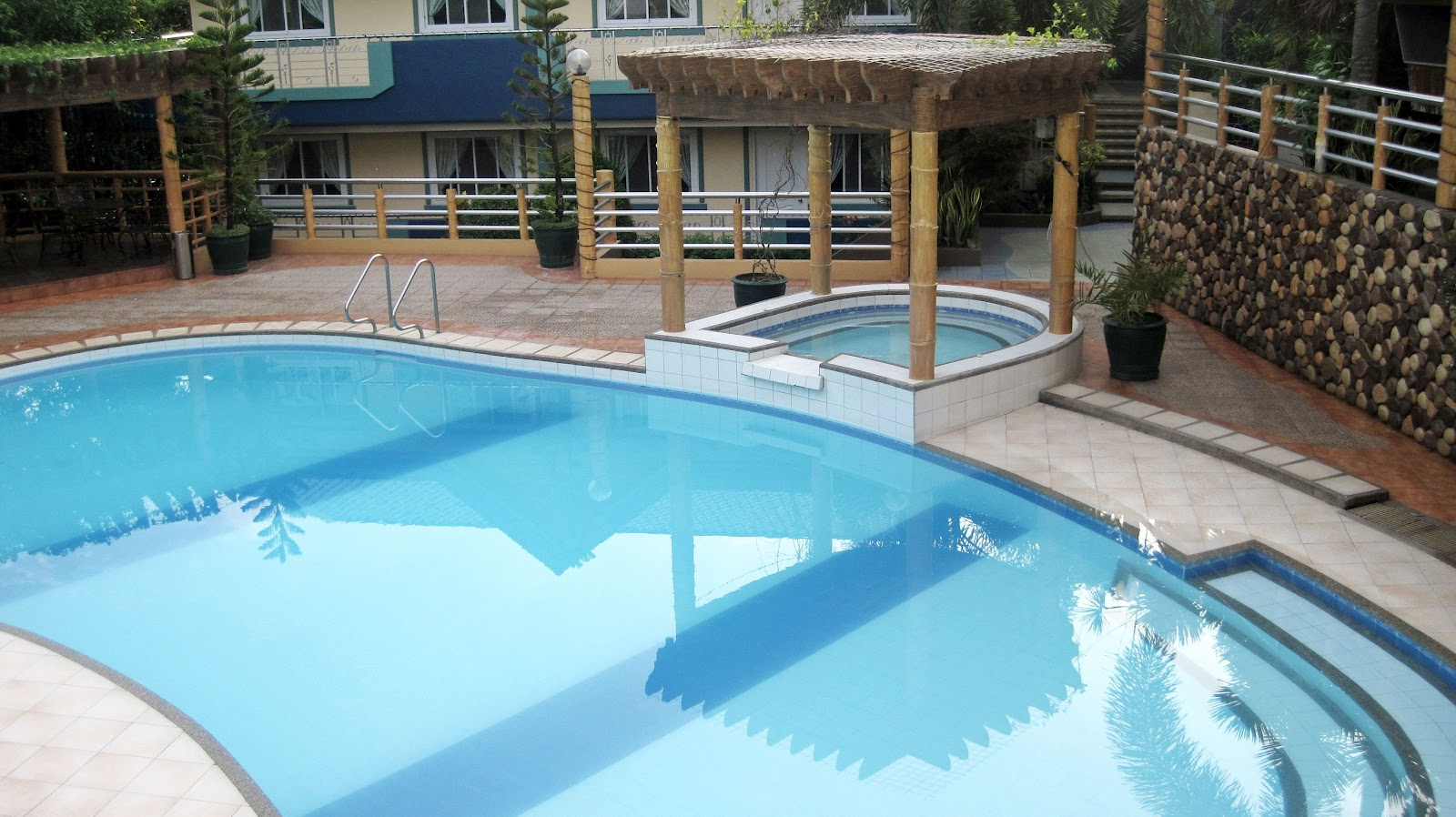to stay at Guillean's Place in Antipolo City. It's a private resort